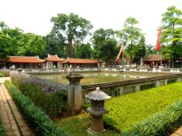 Quoc Tu Giam Park ze Świątynią Literatury (Văn Miếu Quốc Tử Giám)