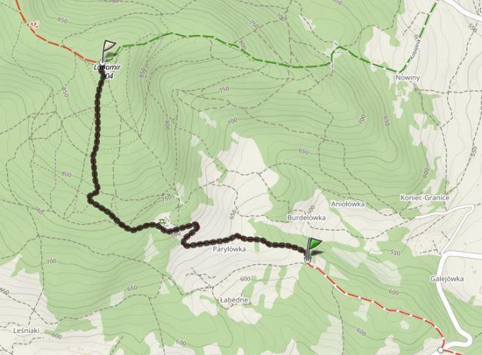 Lubomir trasa